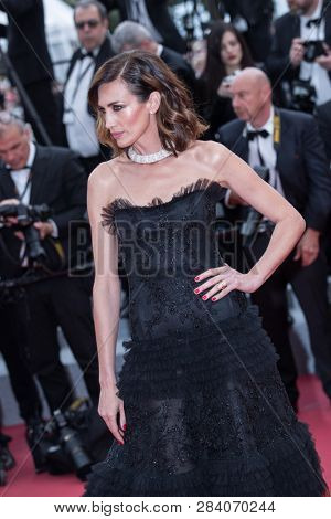 CANNES, FRANCE - MAY 09: Nieves Alvarez attends the screening of Yomeddine during the 71st Cannes Film Festival on May 9, 2018 in Cannes, France.