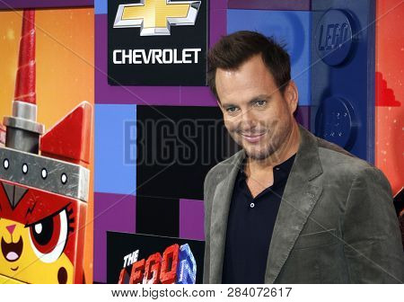 Will Arnett at the Los Angeles premiere of 'The Lego Movie 2: The Second Part' held at the Regency Village Theatre in Westwood, USA on February 2, 2019.