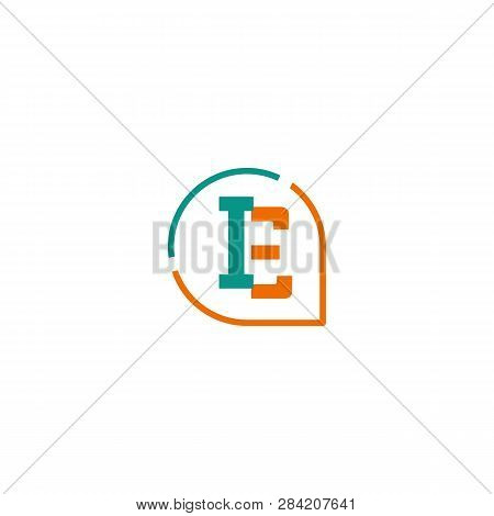 Initial E, Ie, I Logo Template Vector Illustration Icon Element