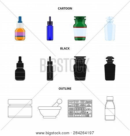 Vector Design Of Retail And Healthcare Symbol. Collection Of Retail And Wellness Stock Symbol For We