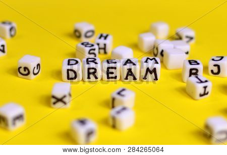 Dream Concept. Cubes With