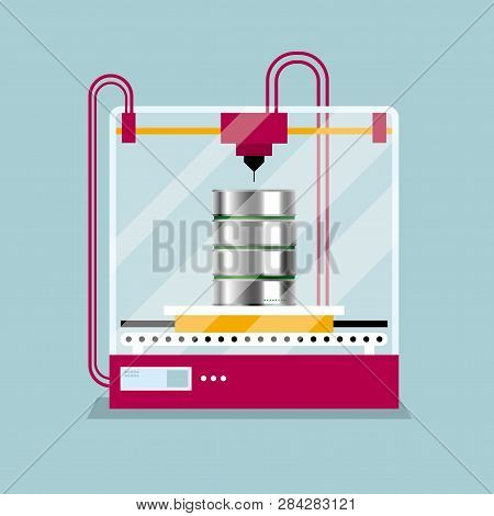 3d Printing A Hard Disk Model, The Concept Of Rapid Prototyping.