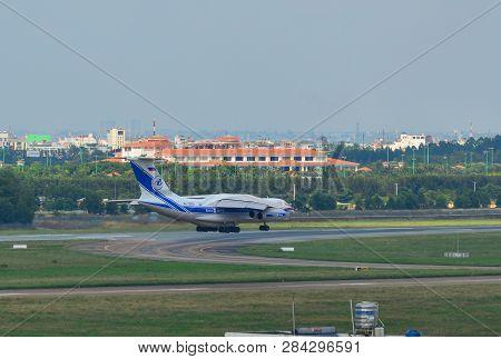 Aircrafts Landing At The Airport
