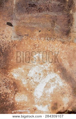 Textured Of Rusty Metall, Metal Background Texture, Metal Steel Vintage Plate With Some Old Scratch,