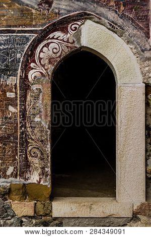 Trabzon, Turkey - Aug 15, 2013:  View Of Sumela Monastery, Trabzon, Turkey
