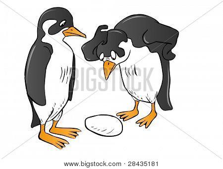 Surprised Penguin