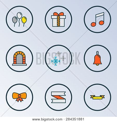 Christmas Icons Vector & Photo (Free Trial)   Bigstock