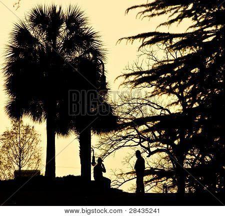 South Carolina Statehouse Sunset