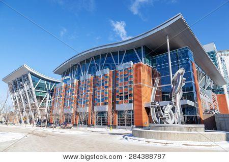 Sait Polytechnic Institute In Calgary, Alberta, Canada