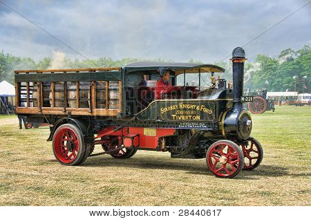 Steam Traction Engine