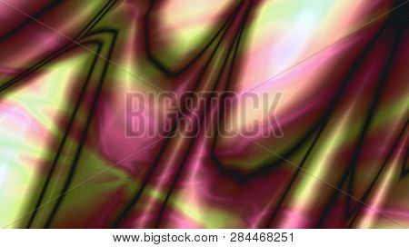 Surface Of A  Planet In The Space, Abstract Art Background. Abstract Art, Abstract Painting, Abstrac