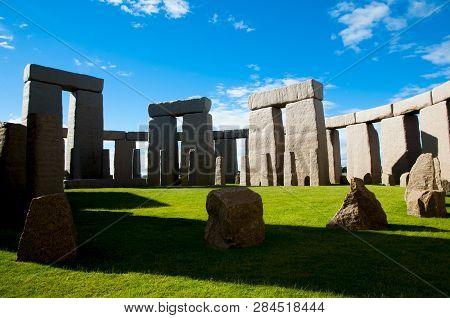Full Stonehenge Replica - Esperance - Australia poster