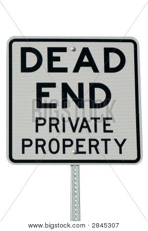 Dead End Private Property
