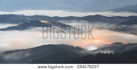 Night Misty Mountains