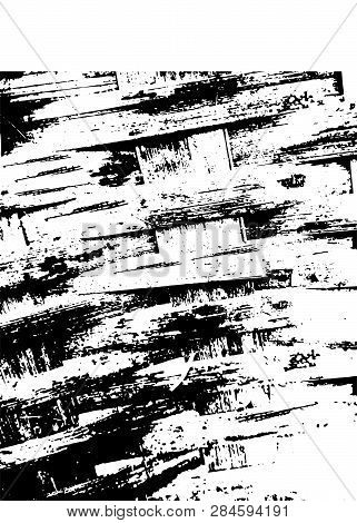 Texture Black And White Urban Rough Texture Vector.  Place Over Any Object Create Black Grunge Effec