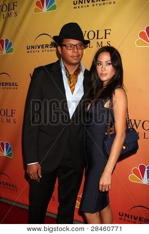LOS ANGELES - SEP 27: Terrence Howard; Michele Howard at the