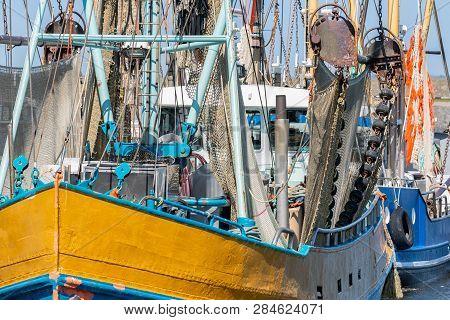 Shrimp Fishing Boat In Dutch Harbor Lauwersoog