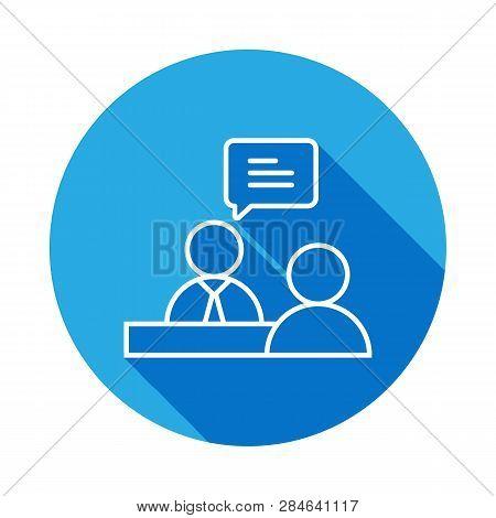 Job Interview Line Vector & Photo (Free Trial) | Bigstock