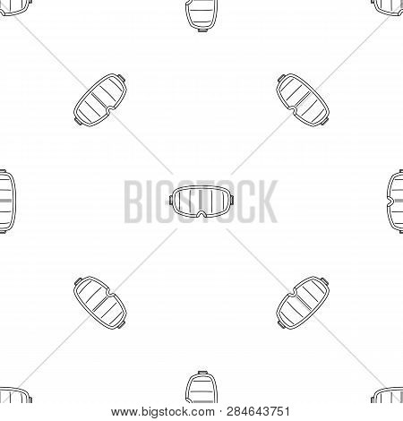 Under Water Glass Mask Pattern Seamless Vector Repeat Geometric For Any Web Design