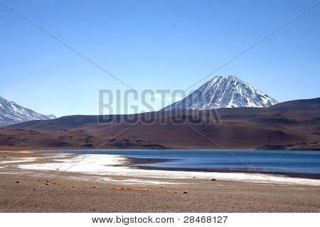 Lagunas Miscanti and Meniques