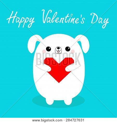 Happy Valentines Day Papierflieger Origami Rot Gestrichelte Linie ...   470x450