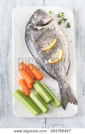 Baked Dorada With Fresh Vegetables