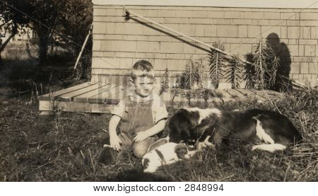 Vintage Family Photo 1907