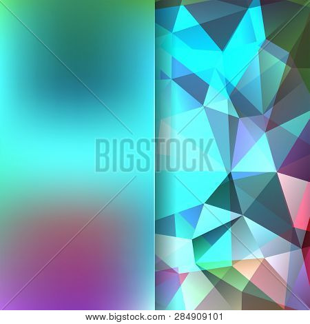 Abstract Polygonal Vector Background. Geometric Vector Illustration. Creative Design Template. Abstr
