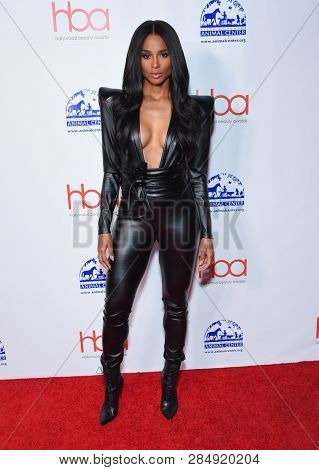 LOS ANGELES - FEB 17:  Ciara arrives for the Hollywood Beauty Awards 2019 on February 17, 2019 in Hollywood, CA