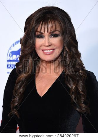 LOS ANGELES - FEB 17:  Marie Osmond arrives for the Hollywood Beauty Awards 2019 on February 17, 2019 in Hollywood, CA