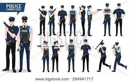 Police Vector Vector & Photo (Free Trial) | Bigstock