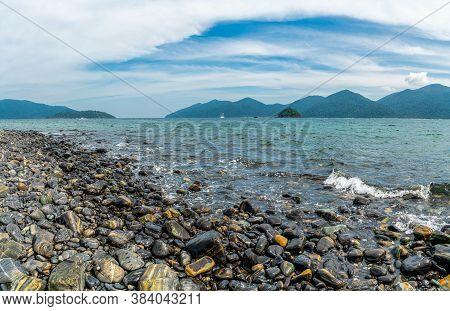 Beautiful Rock Beach And Scenery In Koh Hin Ngam Island, Tarutao National Park, Thailand.