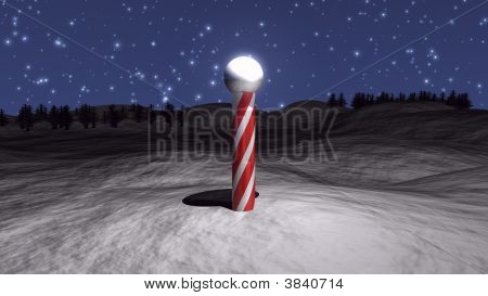 3D North Pole