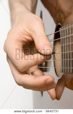 Picking The Acoustic Guitar