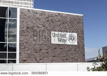 Toledo - Circa September 2020: United Way Office. United Way Worldwide Is A Privately-funded Nonprof
