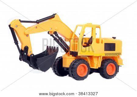 Plastic Toy Excavator
