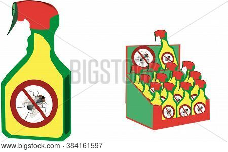 Spray Can For Domestic And Industrial Use Against Parasites