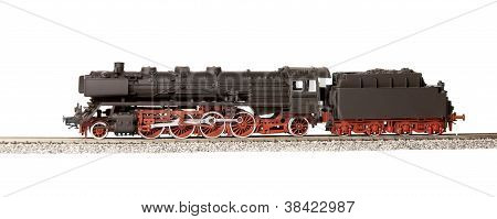 Old Steam Loco Model