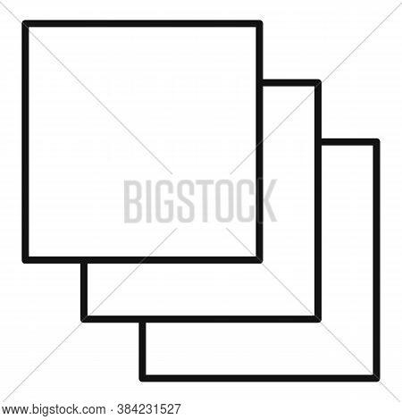 Tiler Ceramic Tile Icon. Outline Tiler Ceramic Tile Vector Icon For Web Design Isolated On White Bac