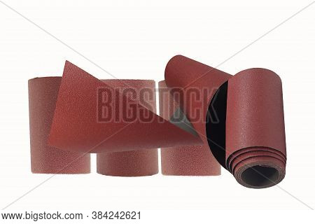 Sandpaper Roll For Sanding And Planing Hobby Use