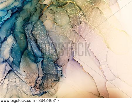Abstract Ink Art. Multicolored Paint Artistic. Bright Alcohol Ink Design. Abstract Color Paintings.