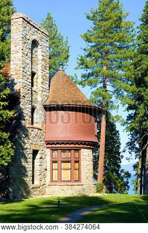 September 3, 2020 In Lake Tahoe, Ca:  Hellman-ehrman Mansion Which Was Built In The Early 1900s And