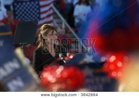 Sarah Palin At Rally