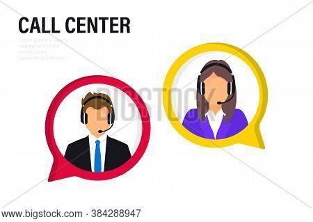 Customer Service. Online Global Technical Support 24 7, Customer And Operator. Hotline Operator Advi