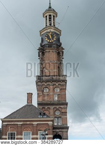 the dutch city zutphen at the ijssel river