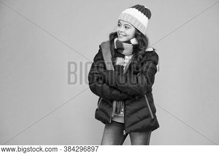 Warming Up. Casual Winter Jacket More Stylish Have More Comfort Features. Female Fashion. Children C