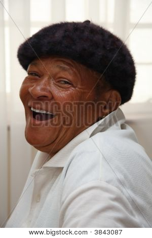 African Woman Laugh