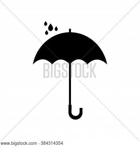 Umbrella Vector Icon. Vector Of Umbrella Icon. Umbrella Icon On White Background. Umbrella Icon Simp