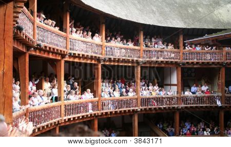 Globe Theatre Audience Applause