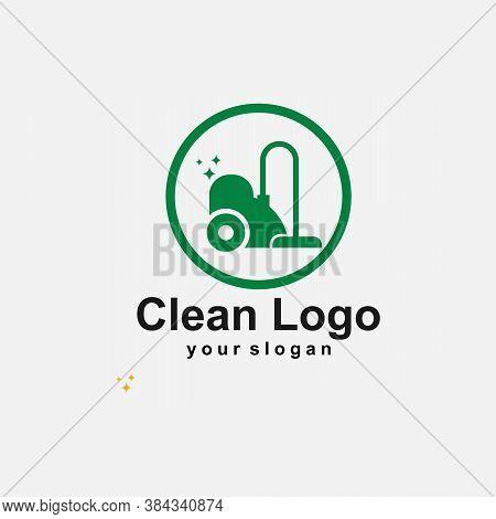 Clean Logo Template Design Vector Icon Illustration